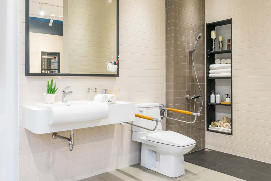 Bauengel Immobilien UG, Bauengel Hattersheim, Badsanierung, Barrierefreie Badezimmer